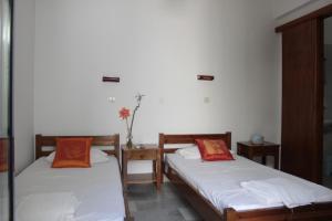 Ένα ή περισσότερα κρεβάτια σε δωμάτιο στο Alkion Studios