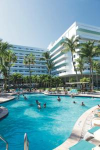 The swimming pool at or near Riu Plaza Miami Beach