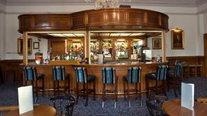 The lounge or bar area at The Lucan Spa Hotel