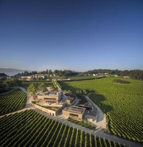 A bird's-eye view of Monverde - Wine Experience Hotel