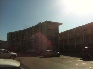 Bâtiment de le motel