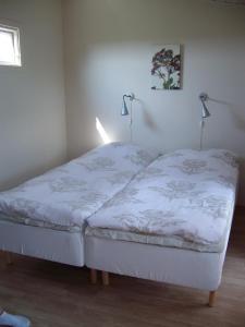 Säng eller sängar i ett rum på Borrby B&B