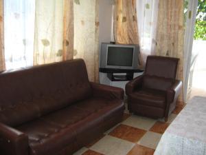 Posezení v ubytování ZZK Flats