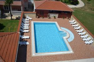 A view of the pool at Villa Bonaca or nearby