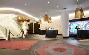 The lobby or reception area at Kameha Grand Zurich, Autograph Collection