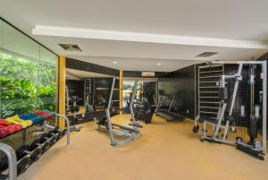 The fitness center and/or fitness facilities at Hotel Regente Paragominas