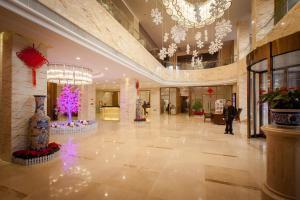 湖北麗江飯店大廳或接待區