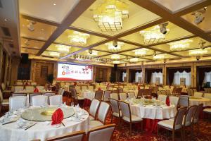 湖北麗江飯店餐廳或用餐的地方