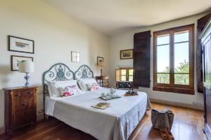 Cama o camas de una habitación en Villa Vignacce