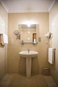A bathroom at Hotel Santa Mafalda