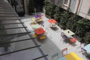 Restaurant ou autre lieu de restauration dans l'établissement Kyriad Lyon Centre - Perrache