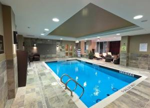 The swimming pool at or near Hilton Garden Inn Toronto/Brampton