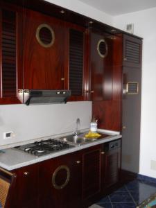 Cucina o angolo cottura di Appartamento Caponero
