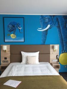 Ein Bett oder Betten in einem Zimmer der Unterkunft Stay! Hotel Boardinghouse