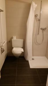 Ein Badezimmer in der Unterkunft Ristorante Stazione con alloggio