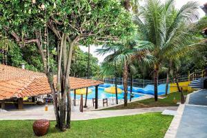 The swimming pool at or near Hotel Tubarão
