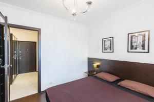 Кровать или кровати в номере Apartments Viva