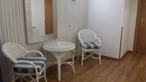 Zona de estar de Hotel Isabel