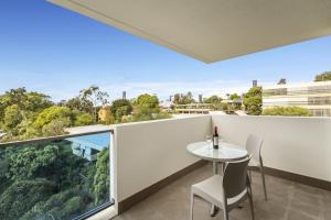 A balcony or terrace at Quest Kelvin Grove