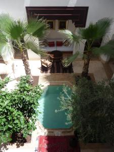 Vue sur la piscine de l'établissement Riad Matham ou sur une piscine à proximité