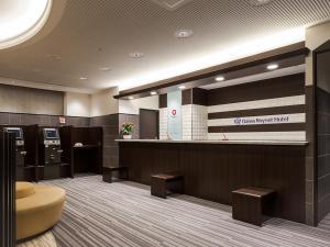 The lobby or reception area at Daiwa Roynet Hotel Mito