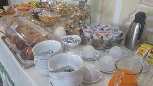 Set per la preparazione di tè e caffè presso Hotel Miramare