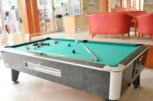 A pool table at Vita Park Hotel & Aqua Park