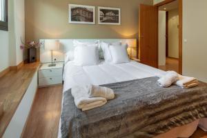 Cama o camas de una habitación en Habitat Apartments Carders