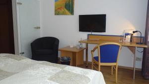 TV/Unterhaltungsangebot in der Unterkunft Hotel Graf Luckner
