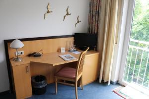 TV/Unterhaltungsangebot in der Unterkunft Hotel Torgauer Brauhof