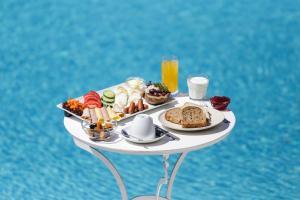 Επιλογές πρωινού για τους επισκέπτες του Anamar Blu