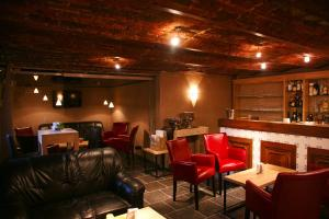 Salon ou bar de l'établissement Hotel L'Ami du Chambertin