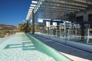 Πισίνα στο ή κοντά στο Ftelia Bay Mykonos Hotel