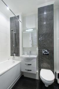 Ванная комната в Апартаменты на Народного Ополчения