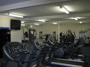 The fitness center and/or fitness facilities at Aspen Karratha Village - Aspen Workforce Parks