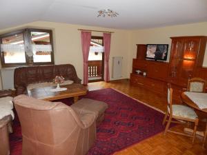 Ein Sitzbereich in der Unterkunft Haus Zeitz