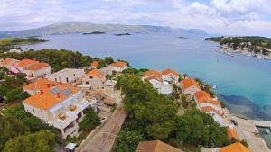 A bird's-eye view of Guest House Lovrić