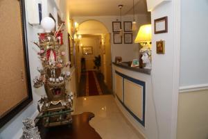 The lobby or reception area at Nuovo Hotel Sangiuliano