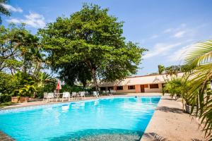 The swimming pool at or near Hotel Fazenda Mato Grosso