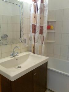Ванная комната в Апартаменты Allinrent Химки