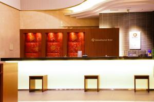 The lobby or reception area at Daiwa Roynet Hotel Osaka-Yotsubashi