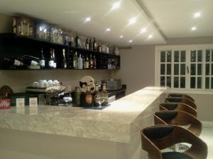 The lounge or bar area at Hotel Willisau