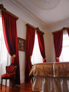 Uma cama ou camas num quarto em Casa da Se