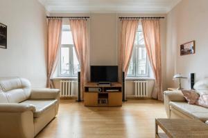 Гостиная зона в Apartment Fontanki 77