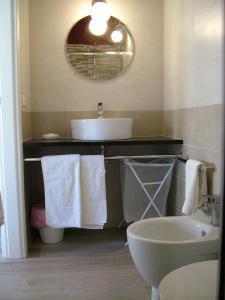 """A bathroom at Agriturismo """"Terra D'Ulivi"""""""