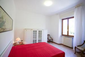 A bed or beds in a room at Villa Leo