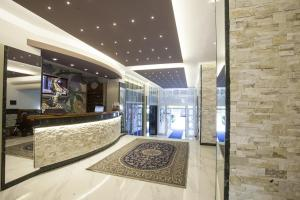 Hall o reception di Hotel King