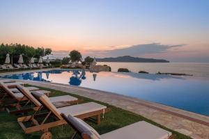 The swimming pool at or near Cretan Dream Royal