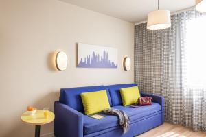 A seating area at Aparthotel Adagio Access Paris Massy Gare