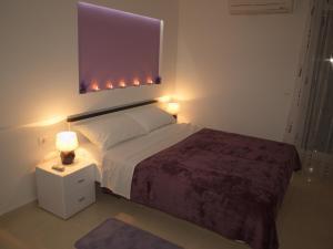 Cama o camas de una habitación en Apartments Svoboda